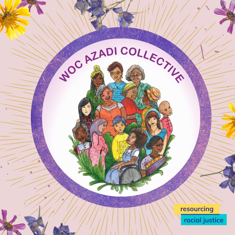 WOC Azadi Collective logo