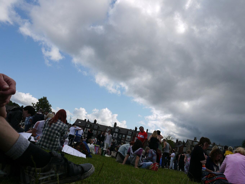 A photograph taken at Sheffield Pride