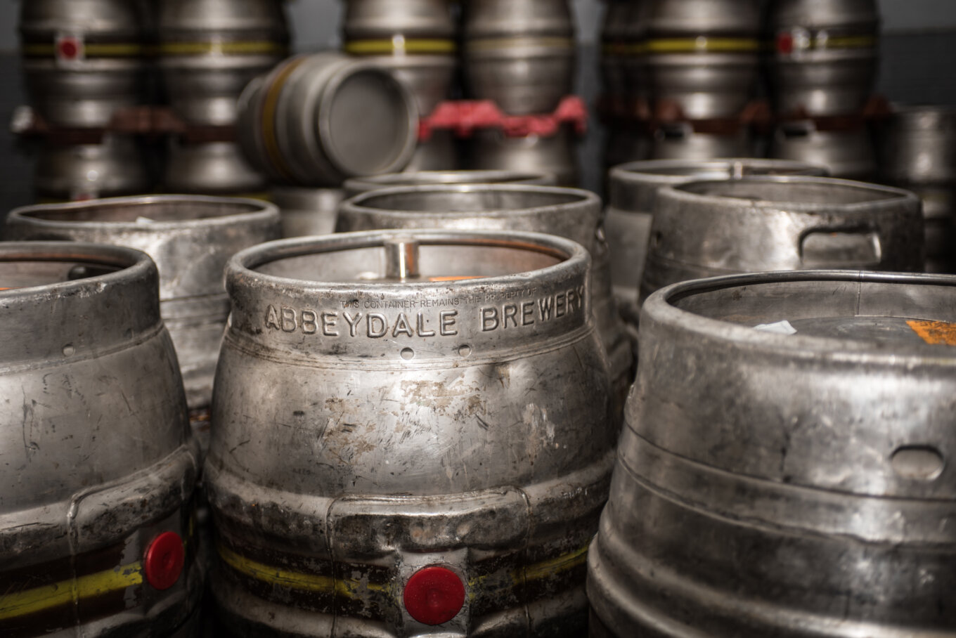 Abbeydale Brewery casks