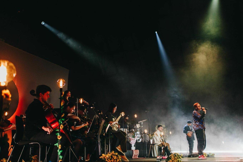 Arlo Parks at Manchester International Festival 2021 - credit Priti Shikotra