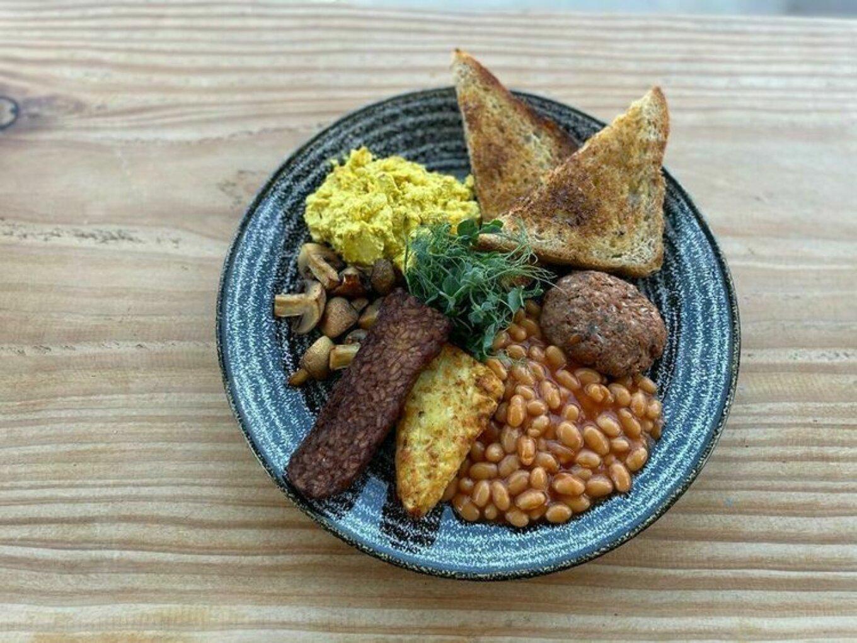 Dana cafe vegan breakfast