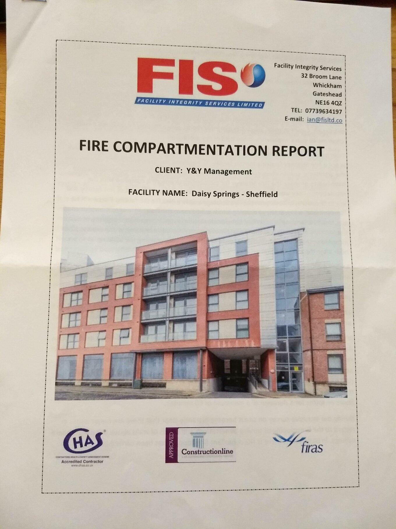 Fire report 1