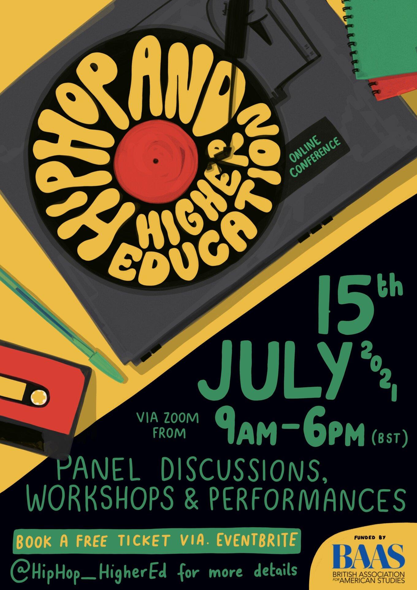 Hip Hop Higher Education Poster 1 2