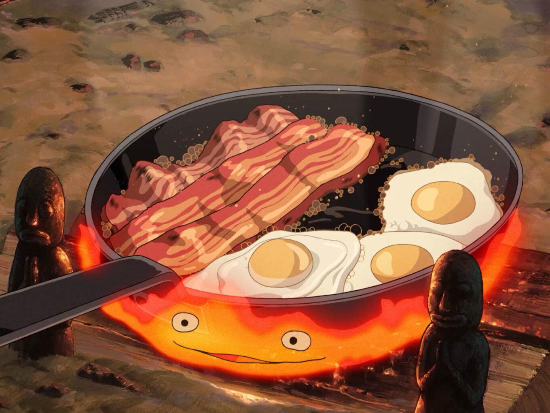 Howls Moving Castle breakfast