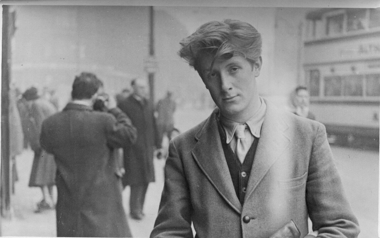 John Hoyland on Sheffield High Street aged 18