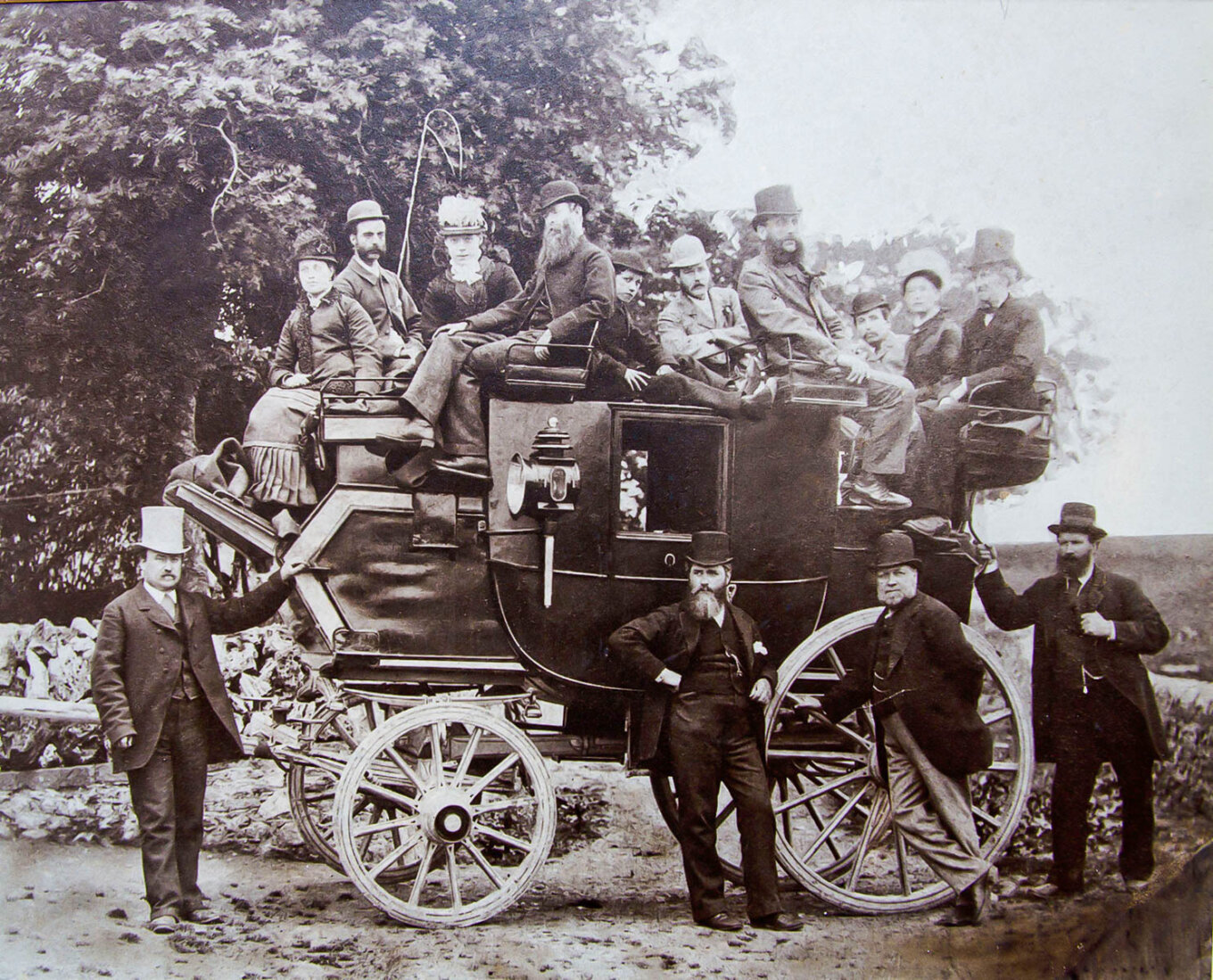 Lathkill Dale Outing 1879