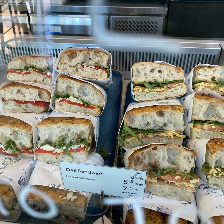 Marmadukes sandwiches