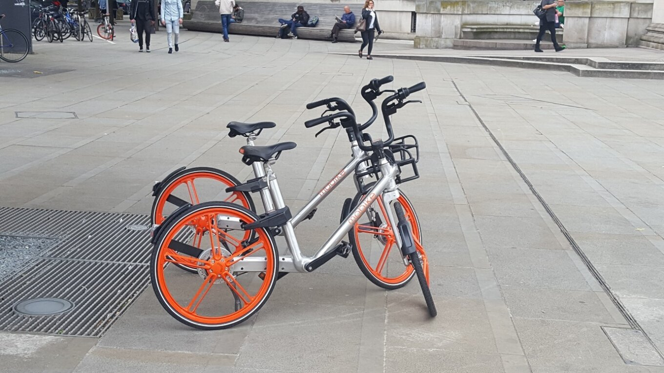 Mobikes St Peters Sq Nick Hubble
