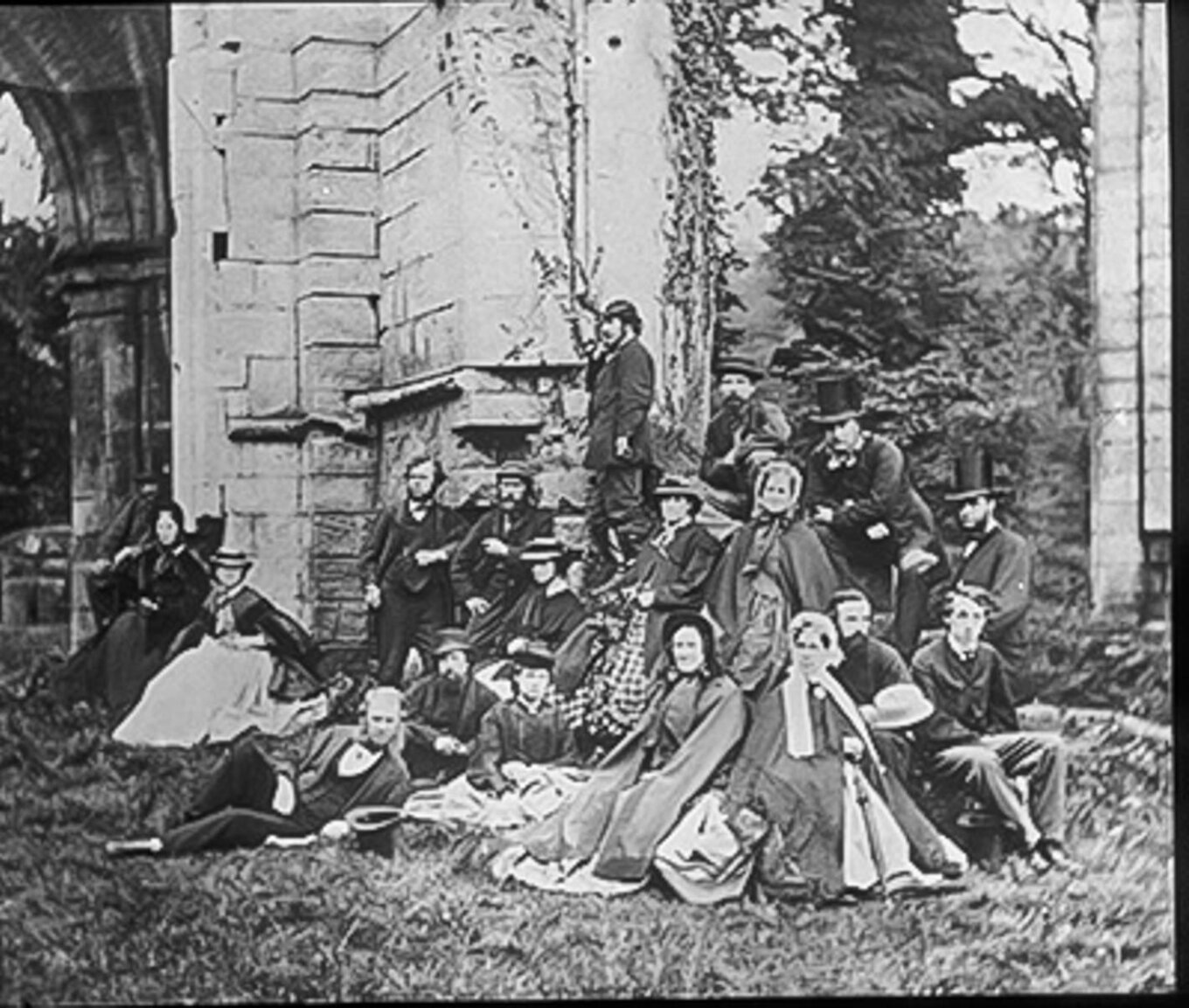 Roche Abbey Outing 1865