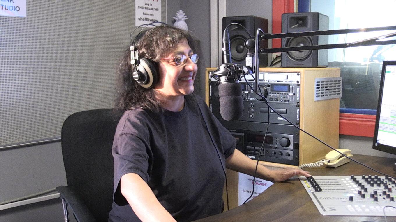 Sheffield Live studio with Sangita Basudev