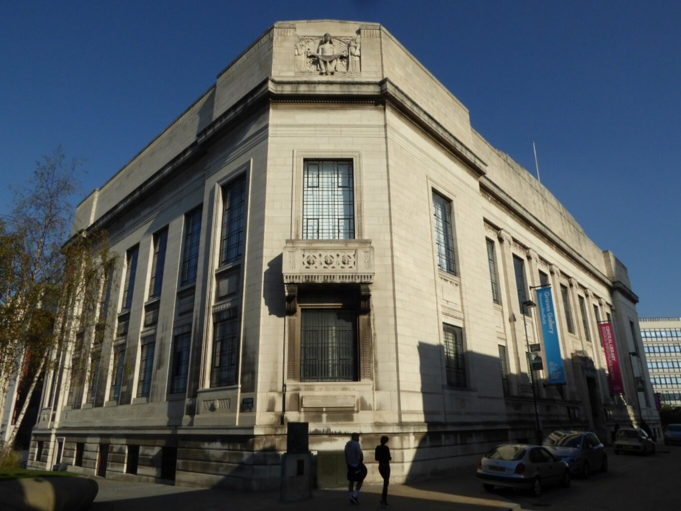 Sheffield central library 21684987449