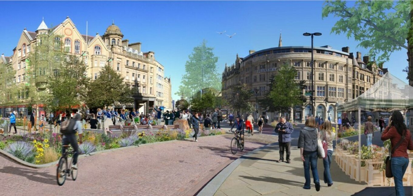 Visualisation of Town Hall Square 003