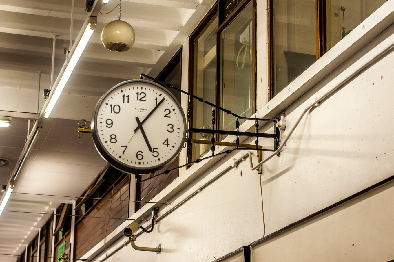 Castle market clock