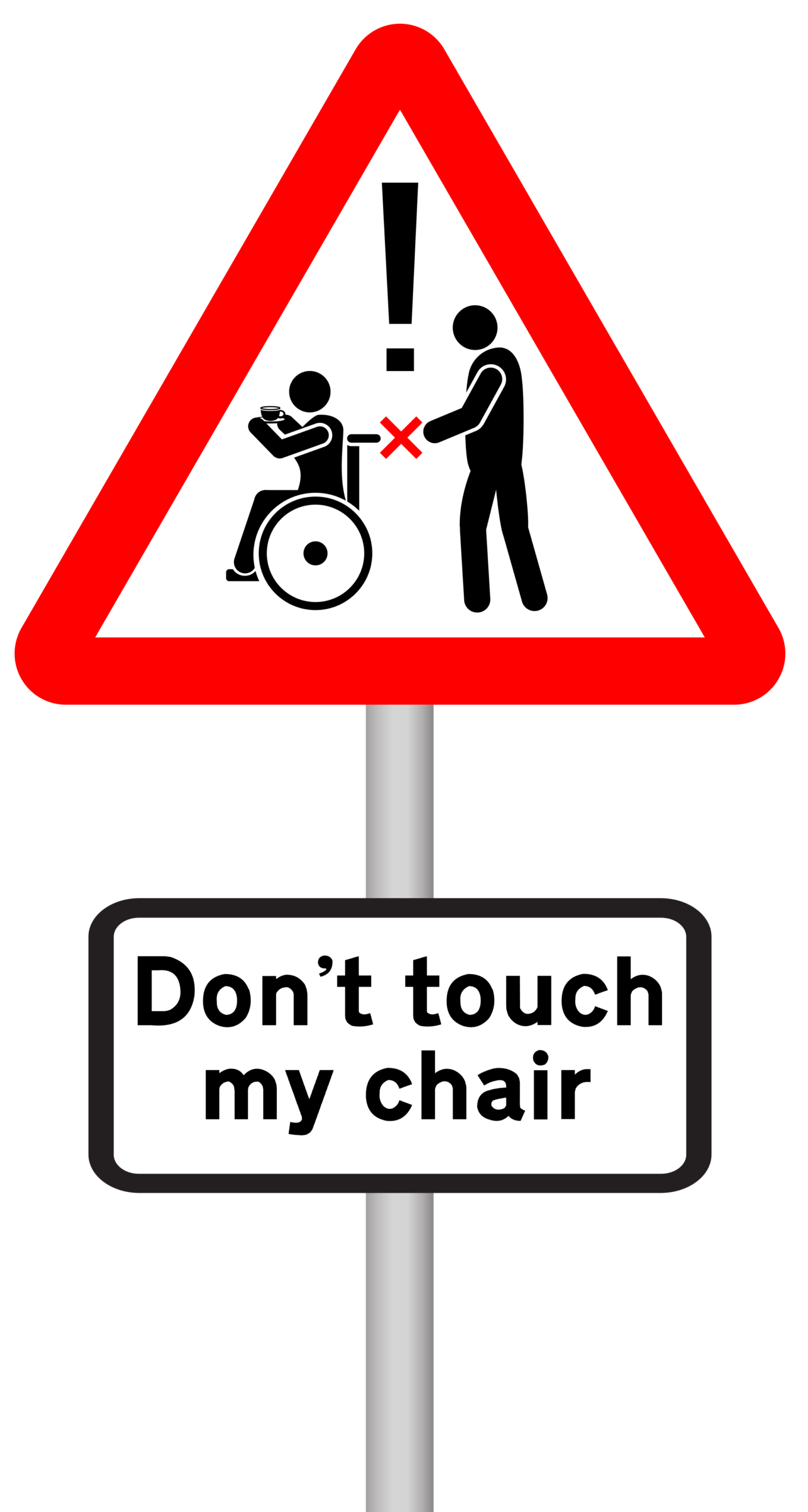 Don't touch my chair