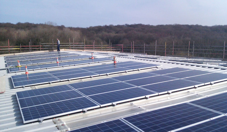 Paces solar array sheffield renewables