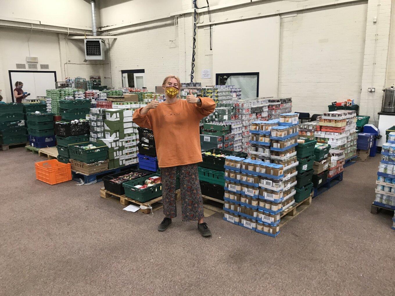 S6 food bank volunteer