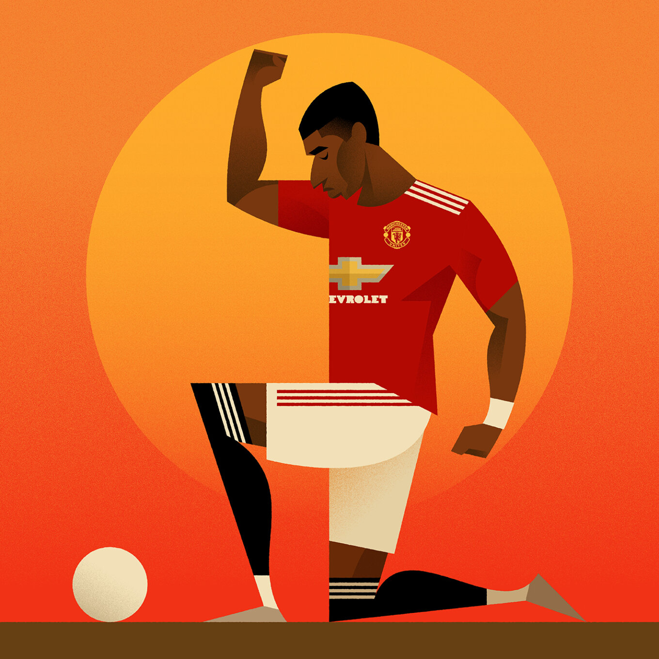 Stanley Chow Marcus Rashford No Room for Racism