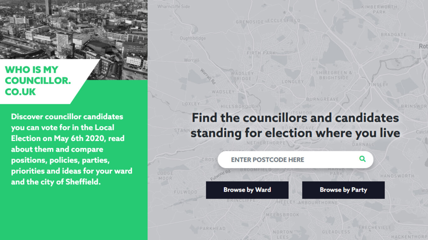 Who is my councillor website screenshot