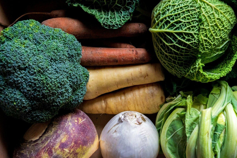 Winter vegetables