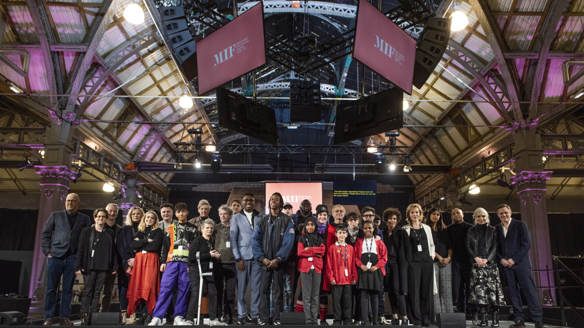 Artists at the MIF 2019 programme launch