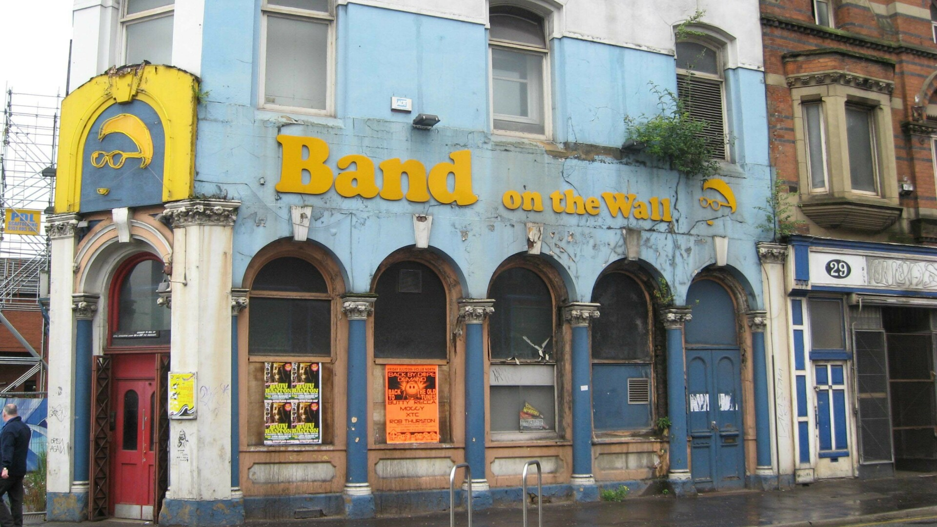 Band on the Wall exterior
