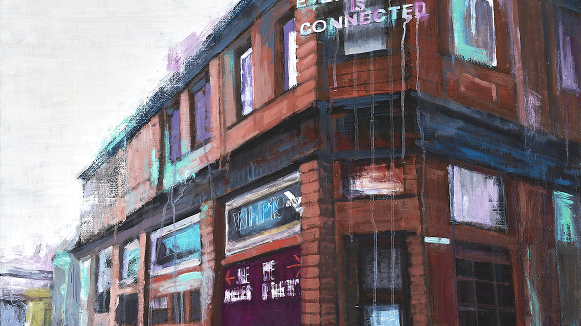 Mayfield Station Warehouse Project Manchester 80 x 80cm Acrylic
