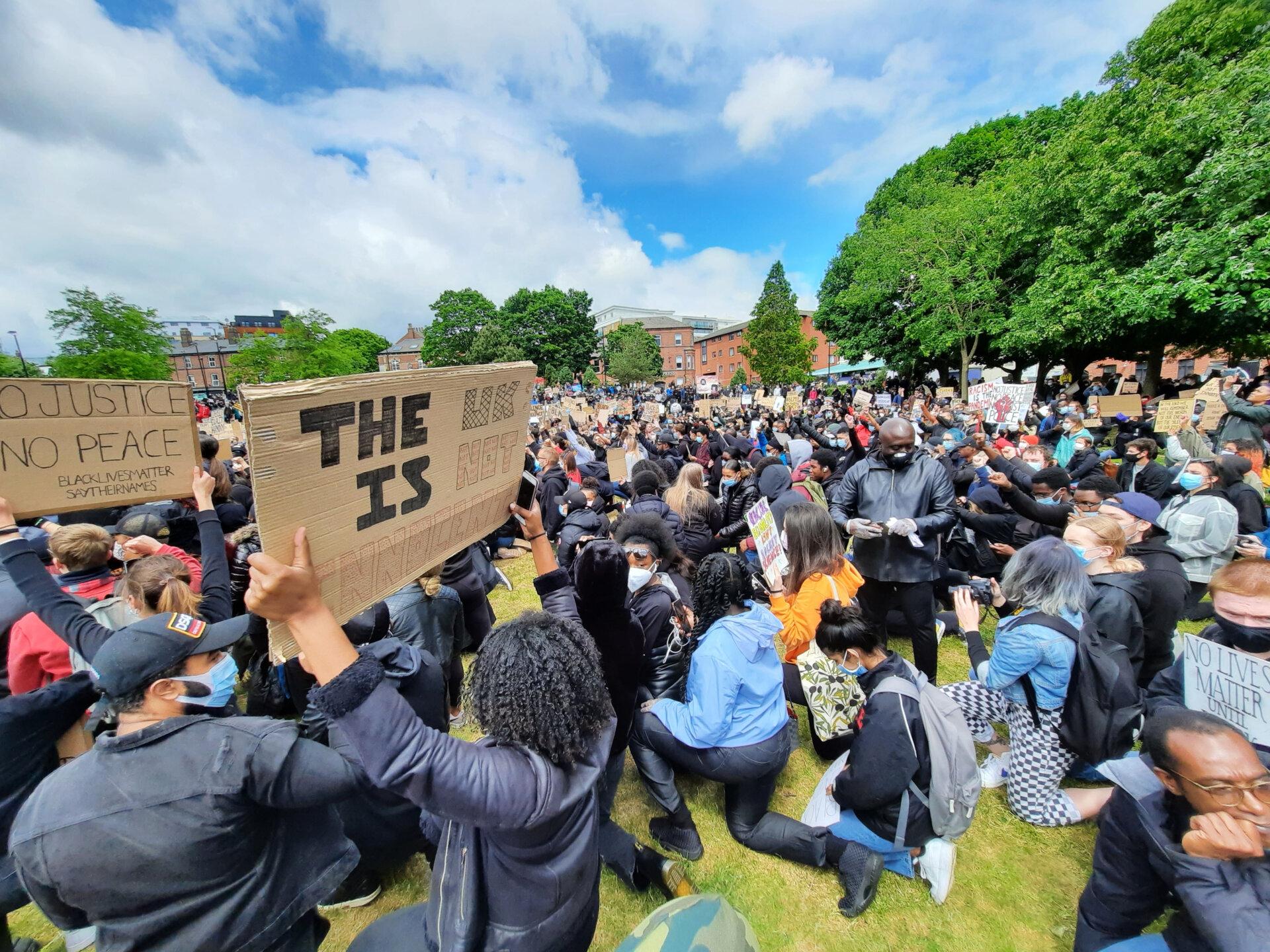 Black Lives Matter protest Devonshire Green Shef Archives