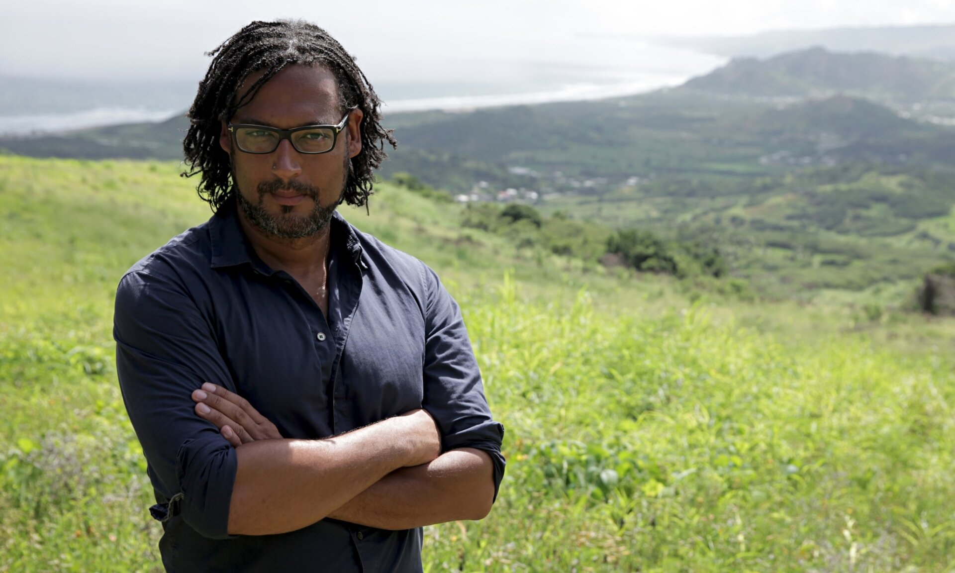 David Olusoga on the Barb 009