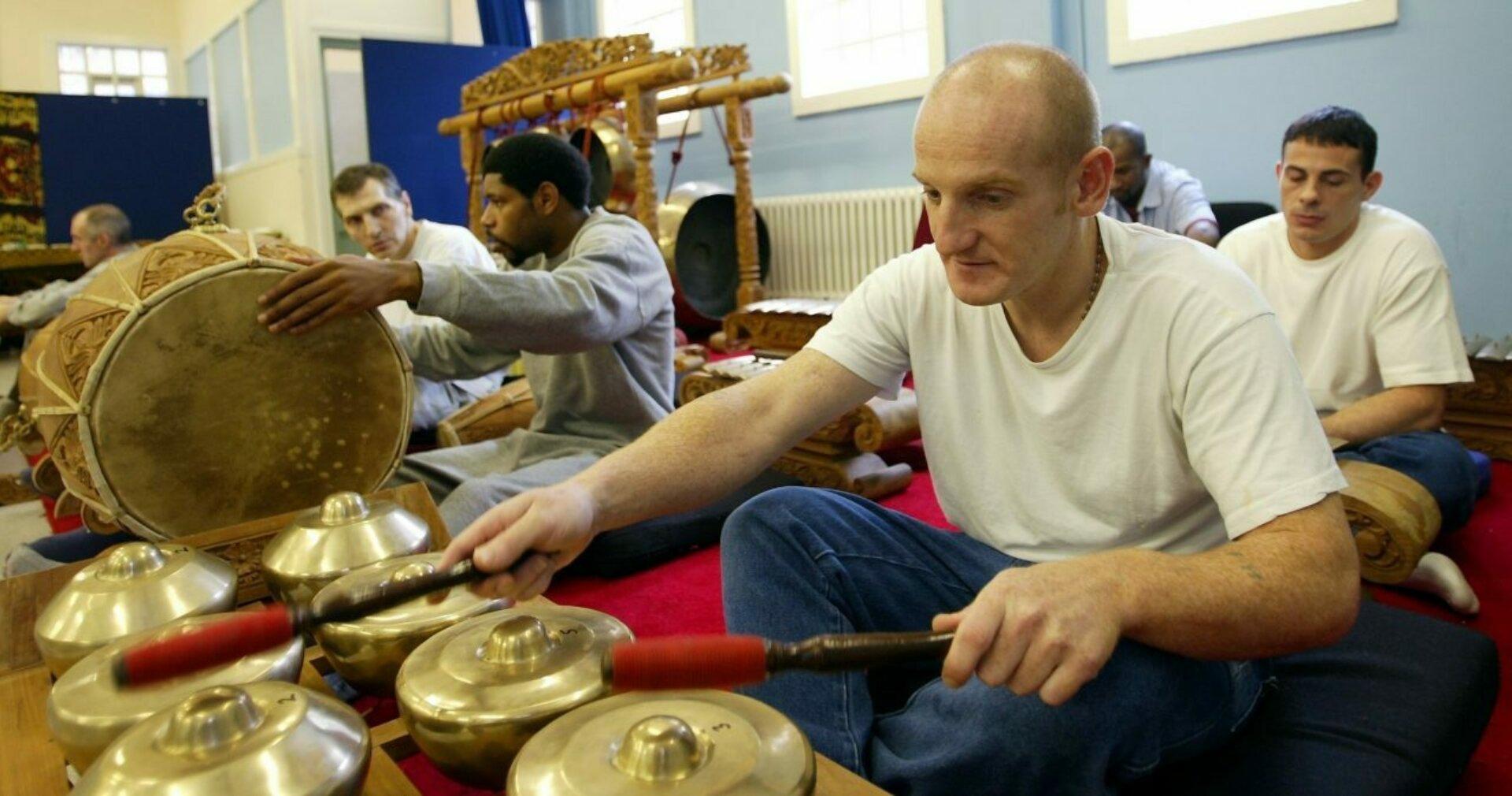 HMP Peterborough gamelan workshop