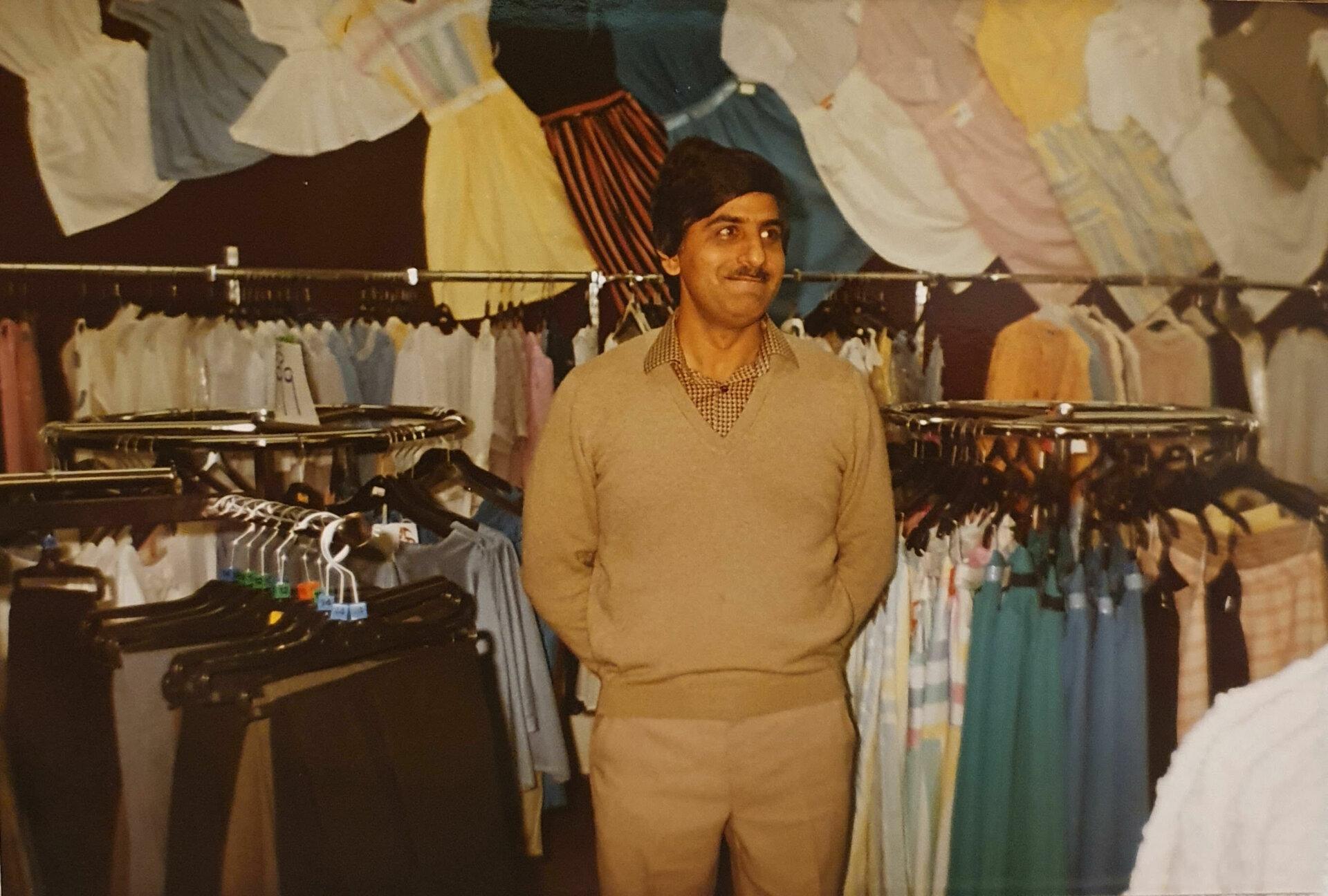Jawaid Iqbal Sheaf Market early 80s