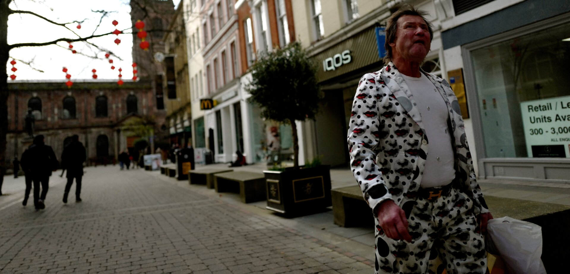 Man in St Anns Square