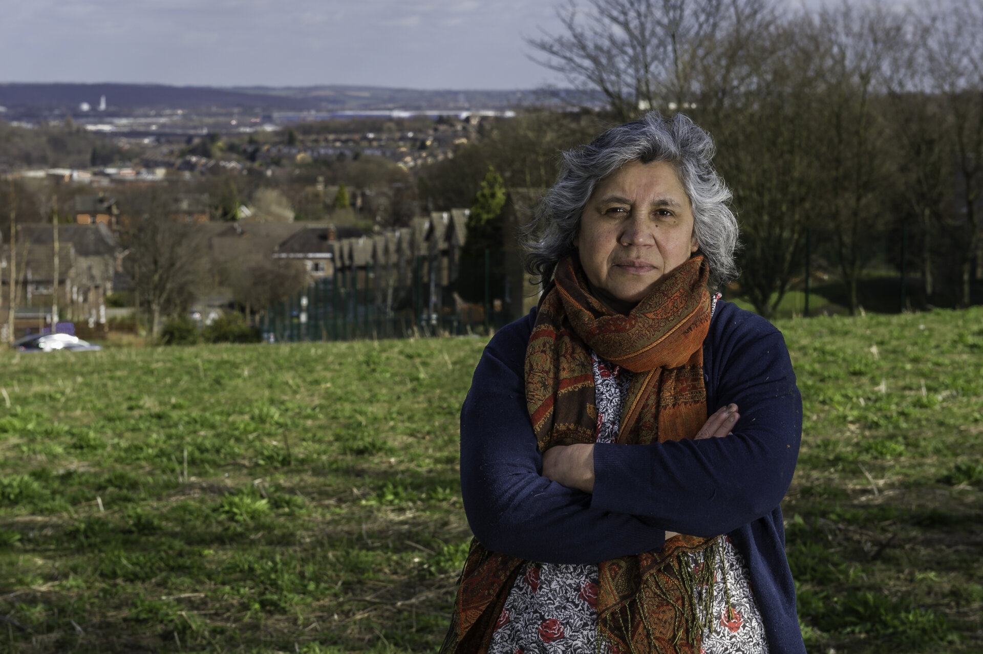 Isilda lang portrait photo on Pitsmoor hill