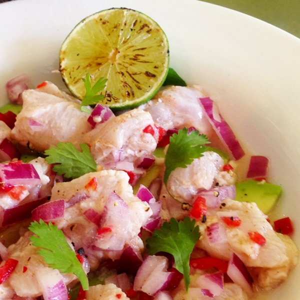 Sour Beer Ceviche