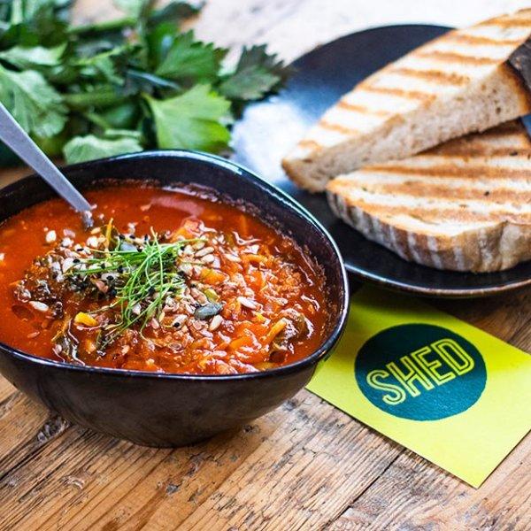 Spiced Quinoa Soup
