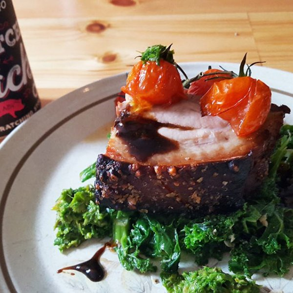 Stout Brined Pork Belly