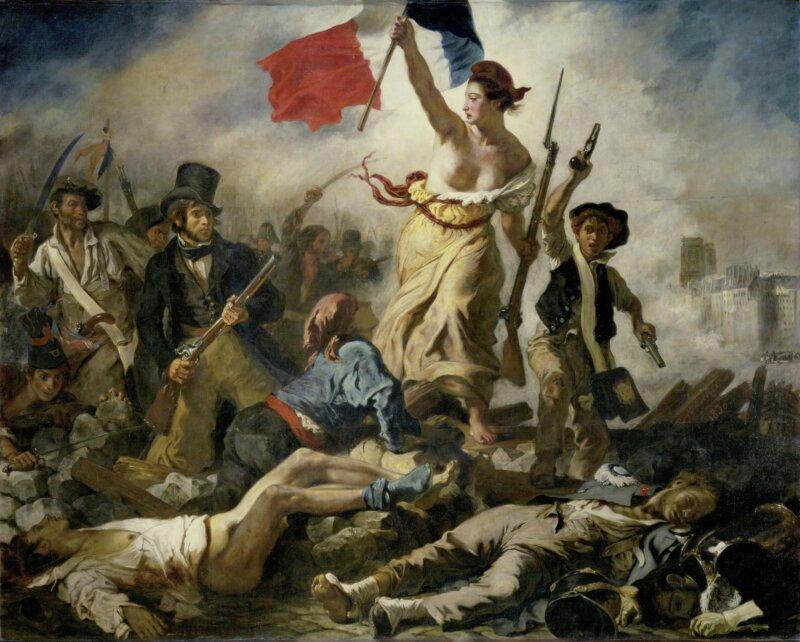 Eugène Delacroix Le 28 Juillet La Liberté guidant le peuple