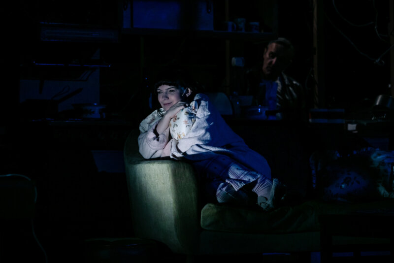 Katie Elin Salt as Little Voice Richard Davenport