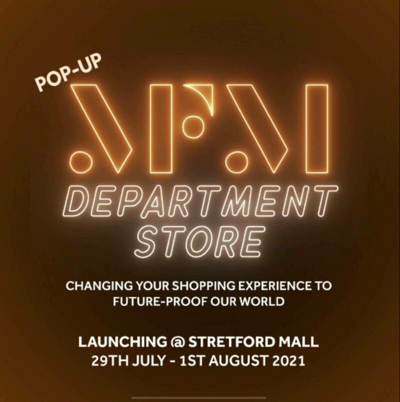 MFM Stretford Mall pop up