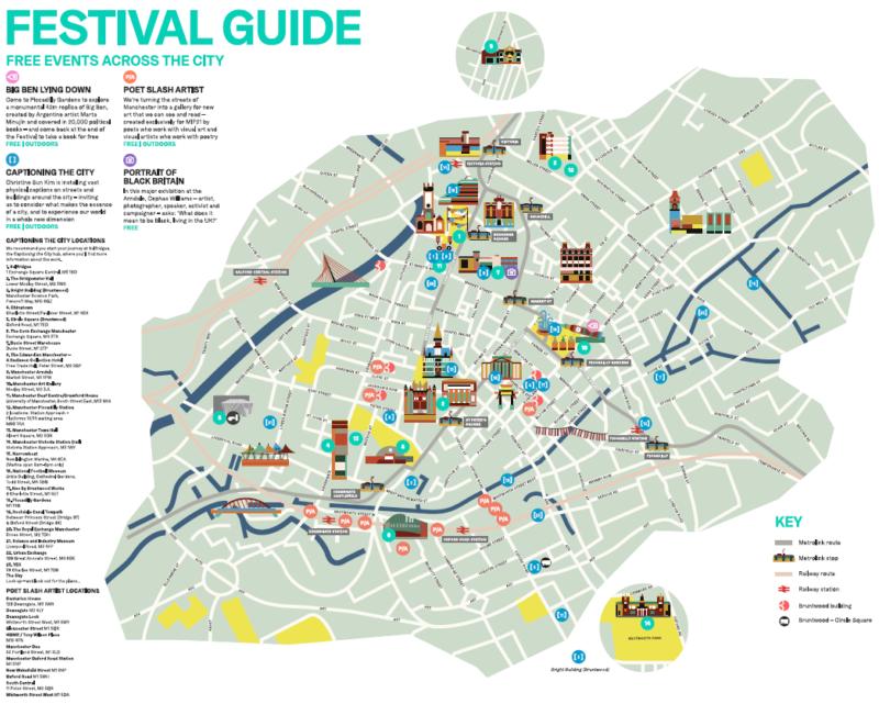 MIF Festival Guide Map