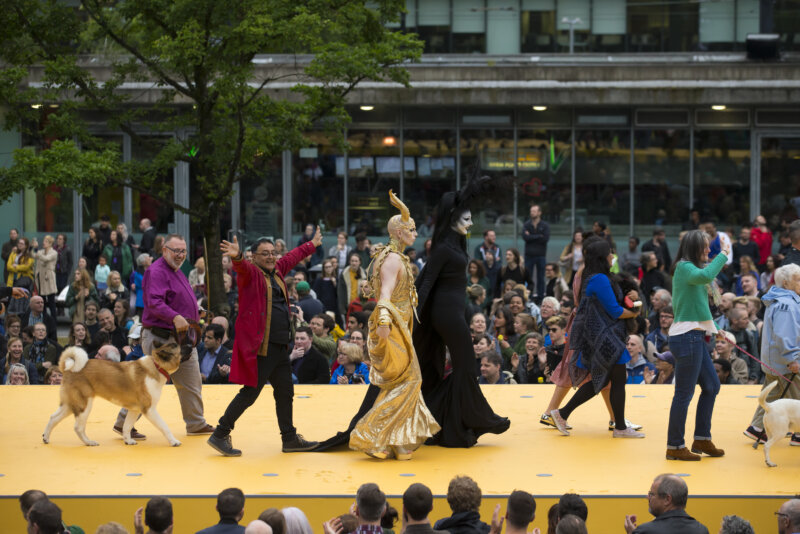 What Is the City but the People launch event for Manchester International Festival 2017