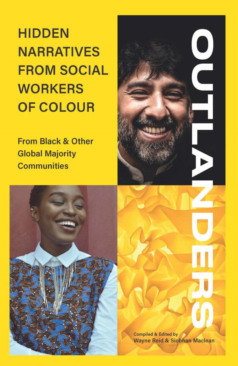 Outlanders social work book cover