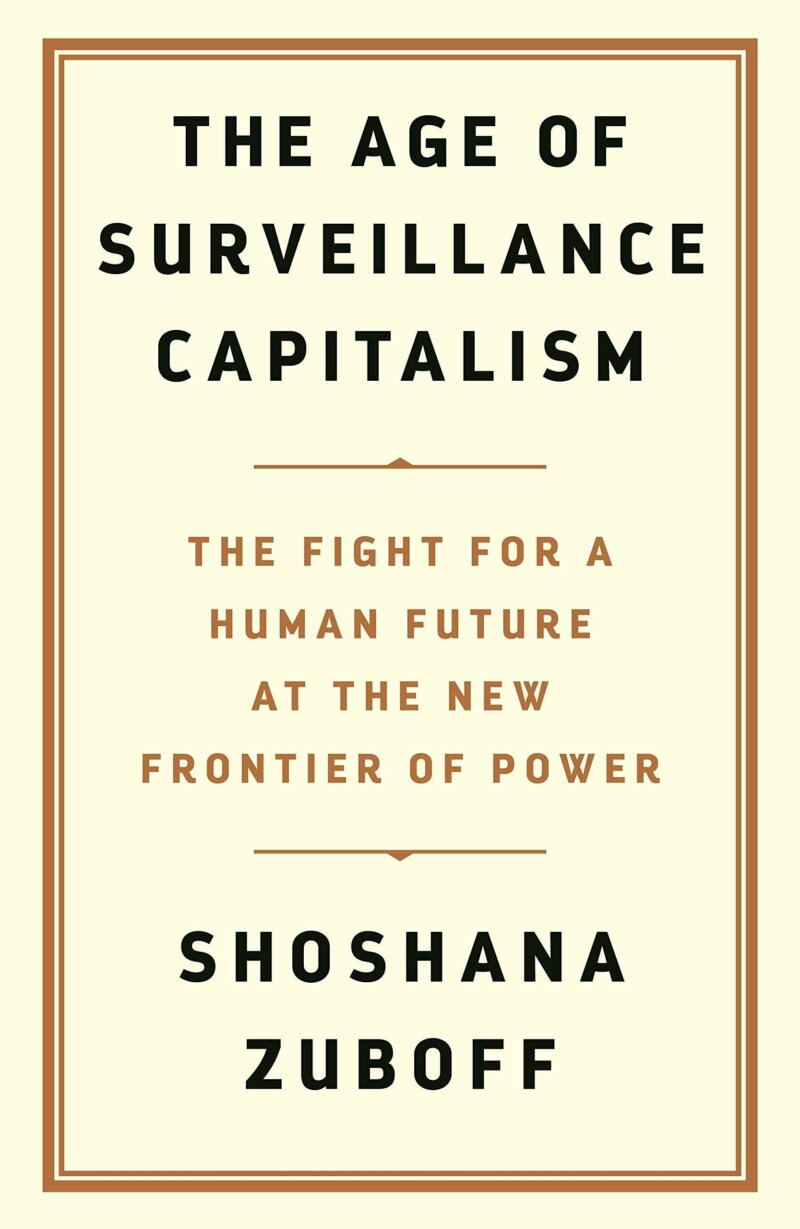 Zuboff surveillance capitalism cover