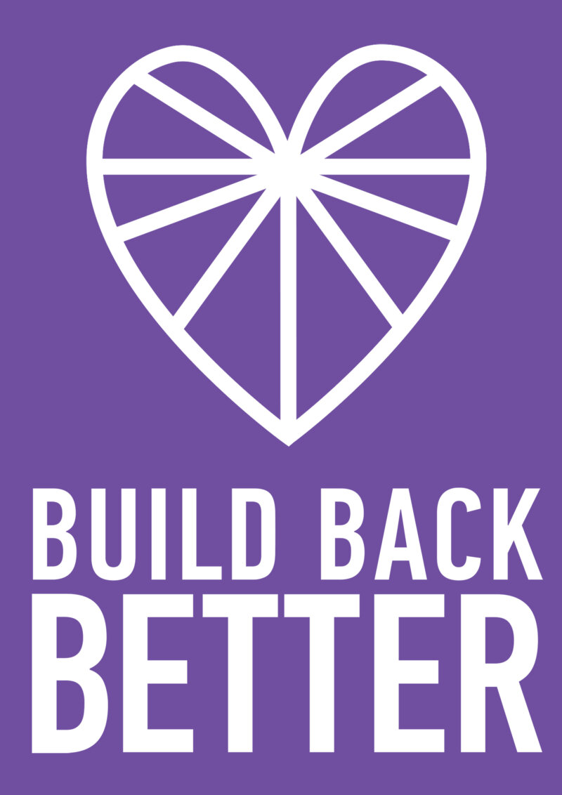 Build Back Better A4 poster web